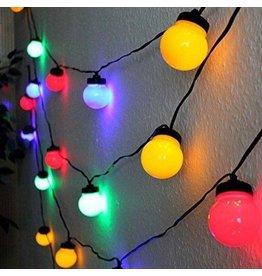 Gadget Dojo XXL Bol Stimmungsbeleuchtung Lichtkabel Weihnachtsbeleuchtung LED 5 meter Multicolor