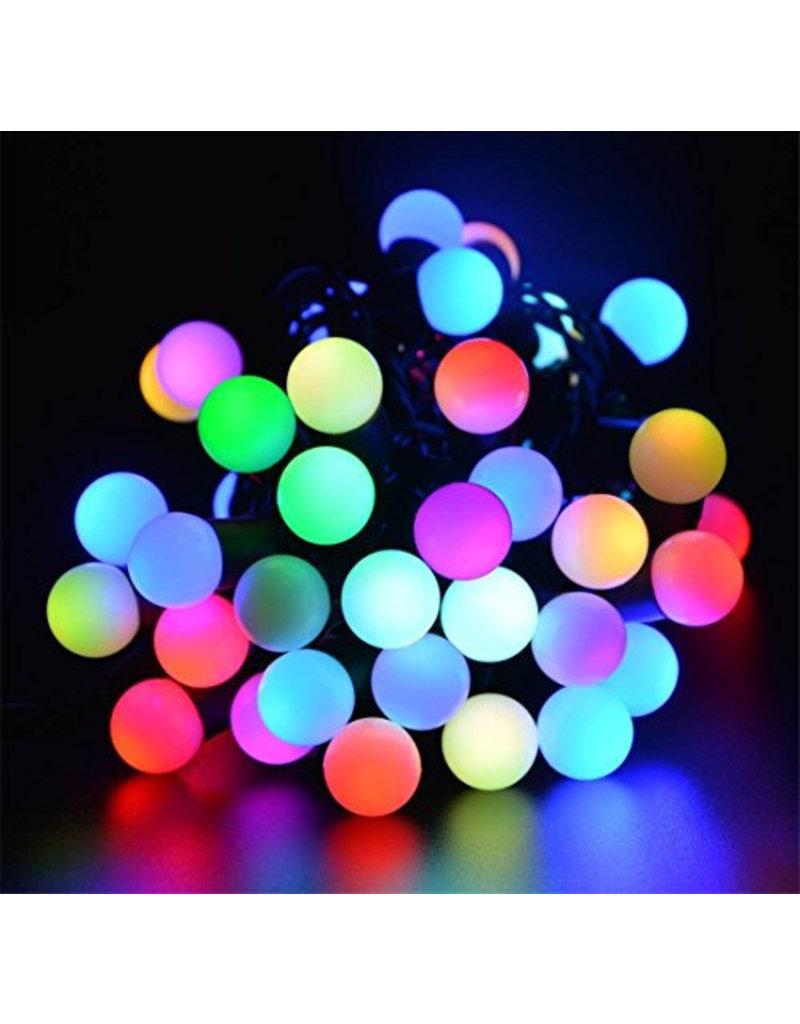 Gadget Dojo XXL Bol Sfeerverlichting Lichtsnoer LED Kerstverlichting 5 meter Multicolor