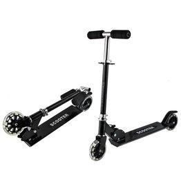 Geeek Kinder Step Scooter mit LED-Rädern - Leichtgewicht - 3 Positionen - Faltbar