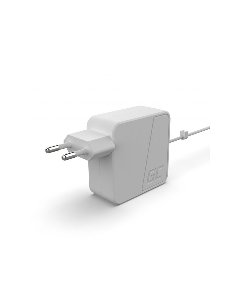 Green Cell Apple Macbook AC Adapter 45W / 14.5V 3.1A / Magsafe 2