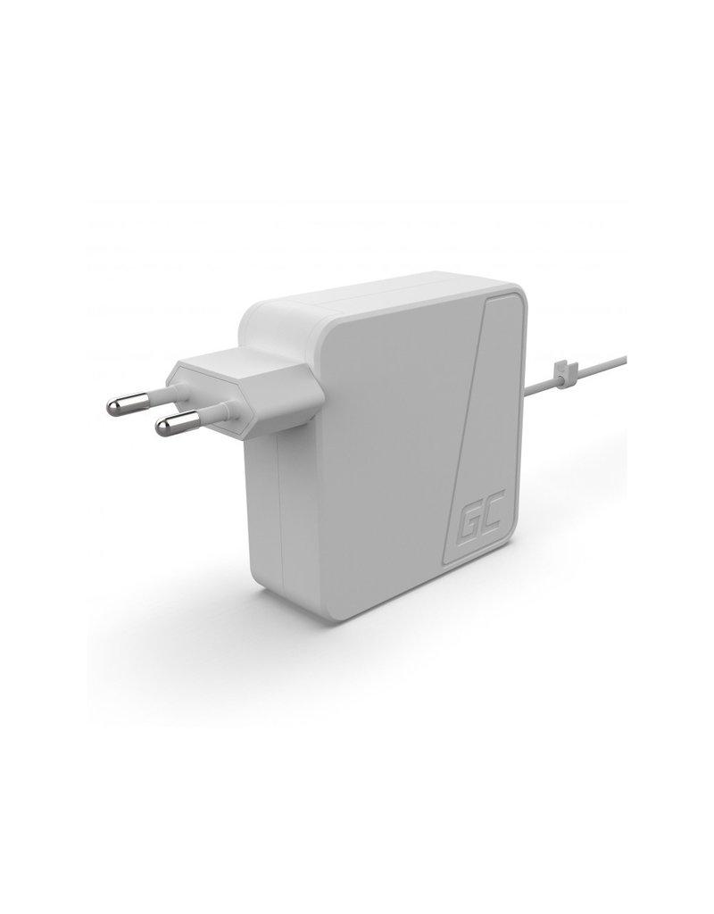 Green Cell Apple MacBook Netzteil 60 W / 16,5 V, 3,65 A / Magsafe 2