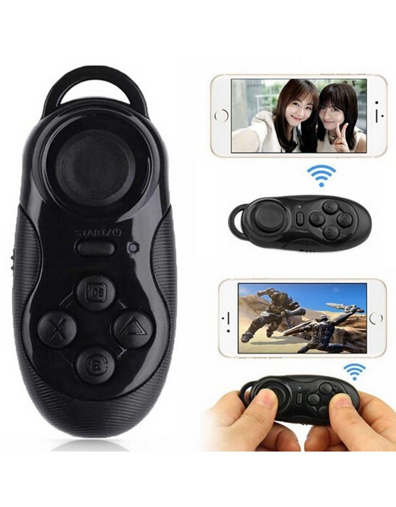 Gadget Dojo 3 in1 drahtloser Bluetooth-Gamepad selfie Fernausloser fuer ios android pc Laptop TV-Box