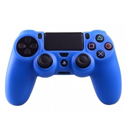 Geeek Silikonschutzhuelle fuer PS4 KontrollerCover Skin - Blau