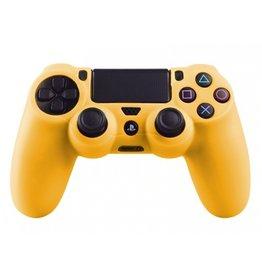 Geeek Silicone Beschermhoes voor PS4 Controller Cover Skin Geel