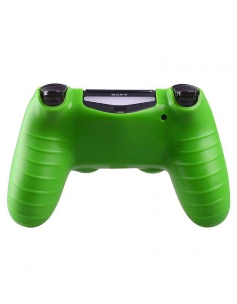 Geeek Silicone Beschermhoes voor PS4 Controller Cover Skin Groen