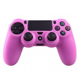 Geeek Silikonschutzhuelle fuer PS4 Controller Cover Skin Rosa