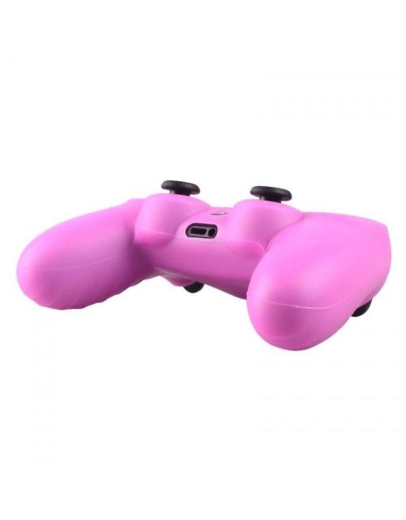 Geeek Silicone Beschermhoes voor PS4 Controller Cover Skin Roze