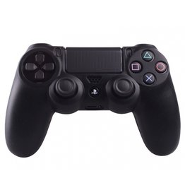 Geeek Silicone Beschermhoes voor PS4 Controller Cover Skin Zwart