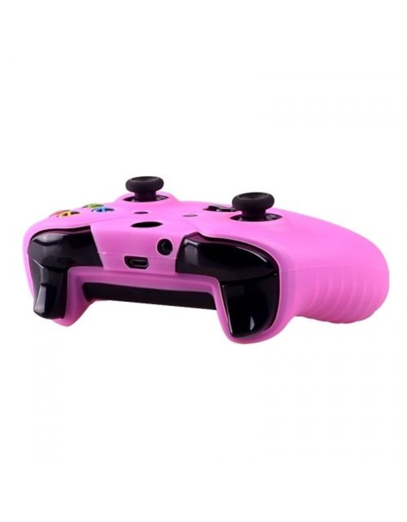 Geeek Silicone Beschermhoes Skin voor Xbox One (S) Controller - Roze
