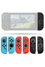 Gadget Dojo Silicone Anti Slip cover voor Nintendo Switch Controller Zwart