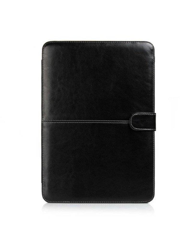 Geeek Schmale Leder Huelle MacBook Pro 13 Zoll Retina - Schwarz
