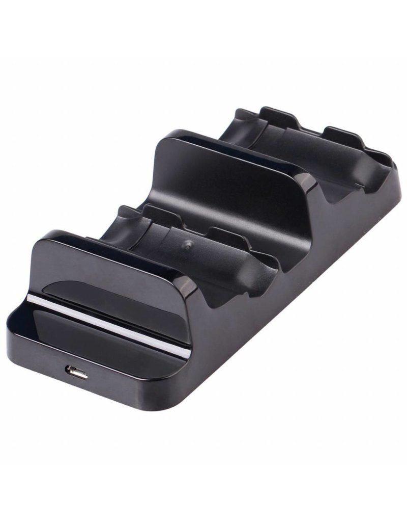 Gadget Dojo Duo oplaadstation voor Xbox One Controllers incl. 2x Battery Pack oplaadbaar 300mAh Zwart
