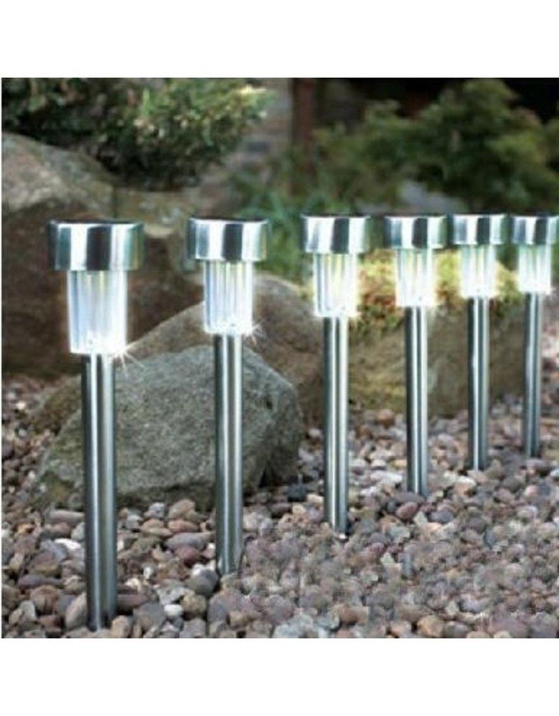 Gadget Dojo Led Solar Buitenverlichting 5 stuks - Tuinverlichting