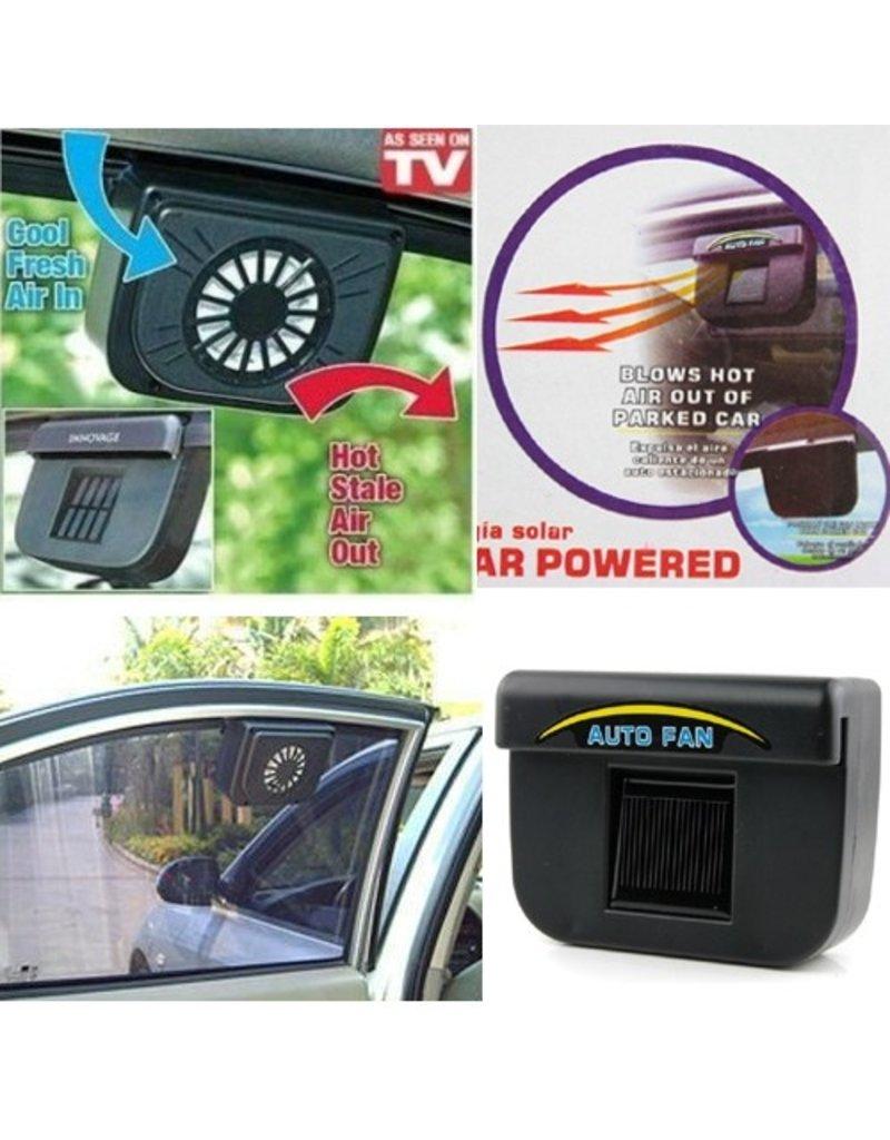 Gadget Dojo Auto Ventilator Koeler op zonne-energie