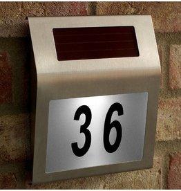 Gadget Dojo Solar Led Huisnummerbord met Licht