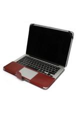 Geeek Leather Slim Sleeve MacBook 12 inch Bruin