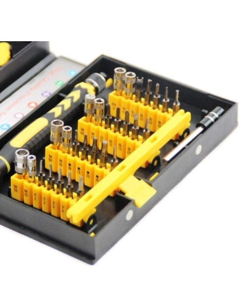 Gadget Dojo Professionele Gereedschapset Toolkit 38-delig voor Smartphone & Tablet Reparatie