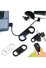Gadget Dojo Sleutelhanger Lightning Apple USB Kabel met Bieropener