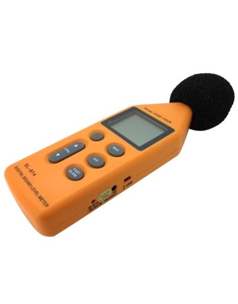 Gadget Dojo Digitaler Audio-Lautstaerkemesser mit USB-Anschluss