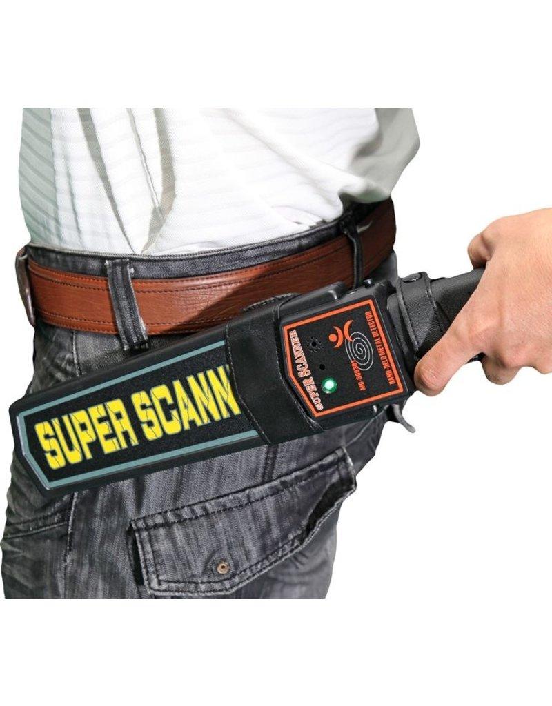 Gadget Dojo Mobiele Hand Metaal Detector - Lichaam scanner