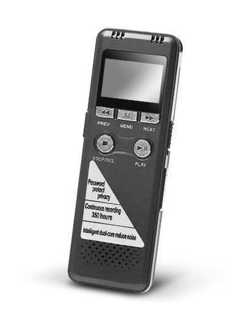 Gadget Dojo Professionelle Voice Recorder Sprachrecorder  8GB Speicher