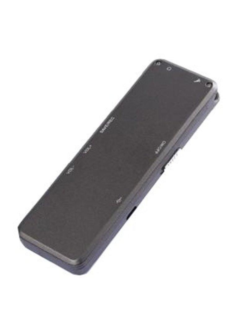 Gadget Dojo Professioneel Digitale Voice Recorder Memorecorder 8GB Intern Geheugen