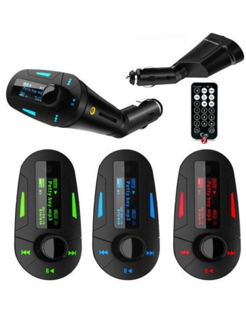 Gadget Dojo Luxe FM Transmitter Groen