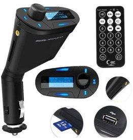 Gadget Dojo Luxe FM Transmitter Blauw
