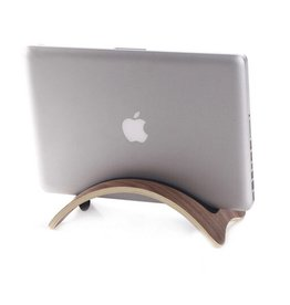 Samdi Houten houder Apple MacBook Air/Pro/Pro Retina - Walnoot donker