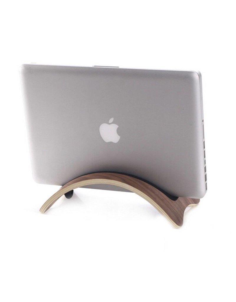 Samdi Houten houder Apple MacBook Air/Pro/Pro Retina - Walnoot donker