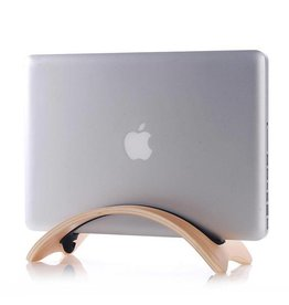 Samdi Houten houder Apple MacBook Air/Pro/Pro Retina - Berken Licht
