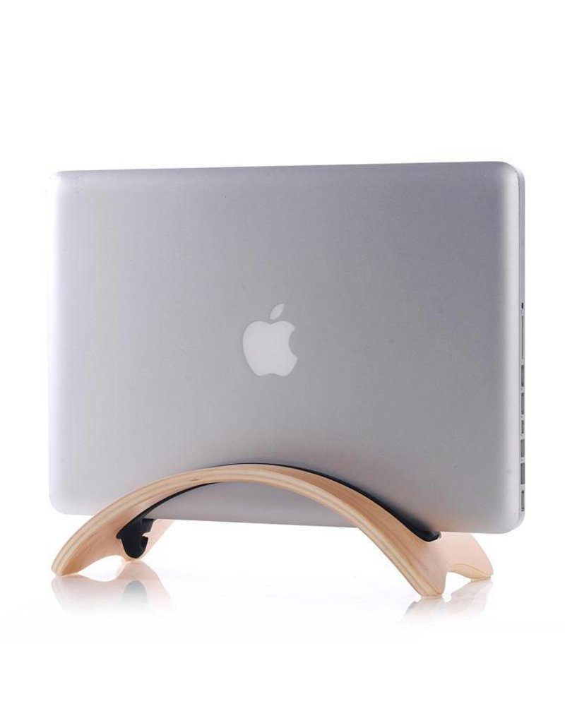Samdi Houten houder Apple MacBook Air/Pro/Pro Retina - Berken Licht