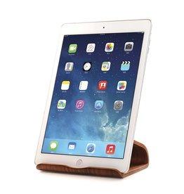 Samdi Holz iPad / Tablet Staender Universal-Standard - Nussbaum dunkel