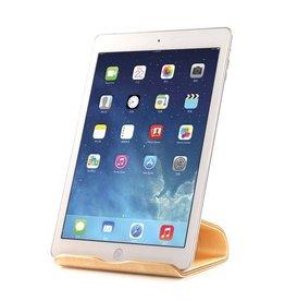 Samdi Houten iPad / Tablet Houder Standaard Universeel - Berken Licht