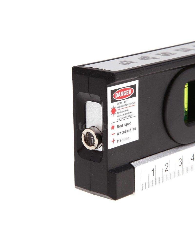 Gadget Dojo Laser Level Pro 4 Horizontaal Verticaal meet apparaat