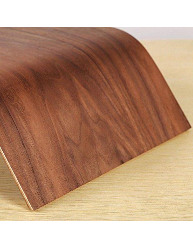 Samdi Ergonomische Holzstaender fuer den Apple iMac oder Bildschirm - Walnuss