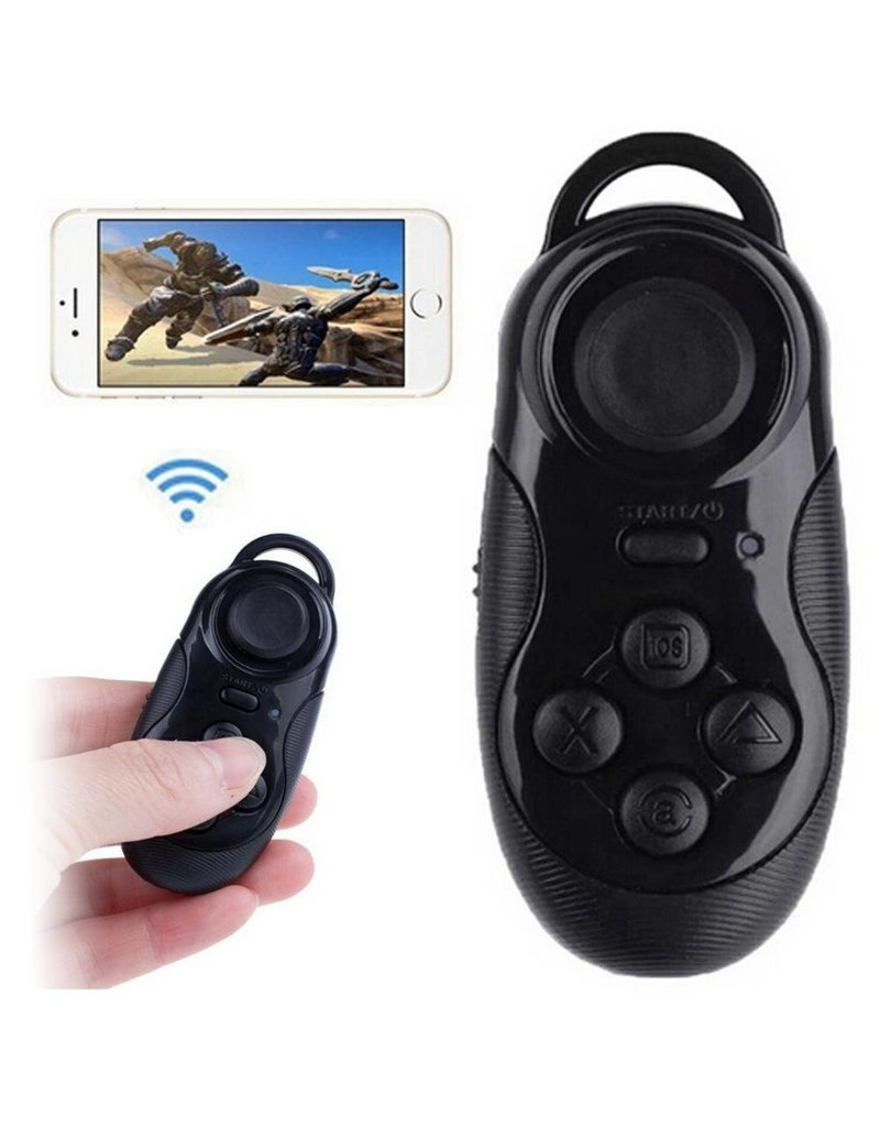 Gadget Dojo 3 in1 drahtloser Bluetooth-Gamepad selfie Fernausloser fuer ios android pc Laptop TV-Box