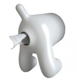 Geeek Hund Hintern Toilettenrolle Toilettenpapierhalter Gelb