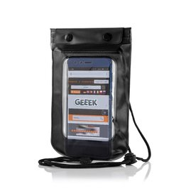 "Geeek Universele Waterdichte Waterproof Case 5.5""  Zwart"