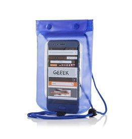"""Geeek Universele Waterdichte Waterproof Case 5.5""""  Blauw"""