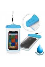 """Geeek Glow Waterdichte Waterproof Case 4.8 - 5.5 """" 175x105mm Blauw"""