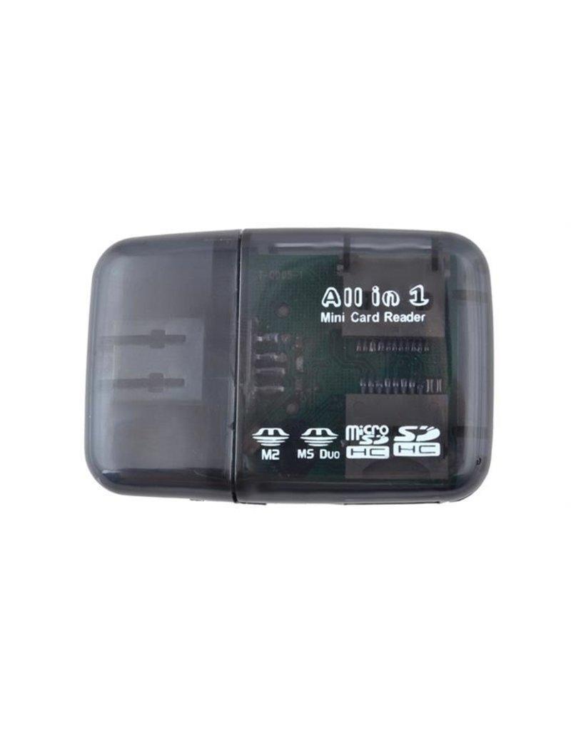 Gadget Dojo Mini USB Kartenleser All In One Kartenleser fuer Micro SD & SD