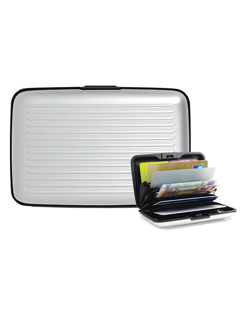Geeek Aluminium Brieftasche Kreditkarteninhaber Pass Halter RFID-Block