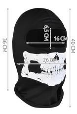 Gadget Dojo Balaclava Ski Hut Skull - Hut mit Totenkopf Druck