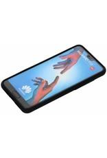 Gadget Dojo Mat Zwart Siliconen TPU Hoesje Huawei P20