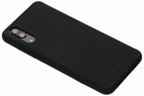 Mat Zwart Siliconen TPU Hoesje Huawei P20