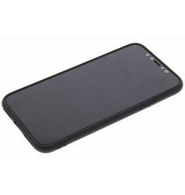 Gadget Dojo Mattschwarz Silikon TPU Case iPhone X / Xs