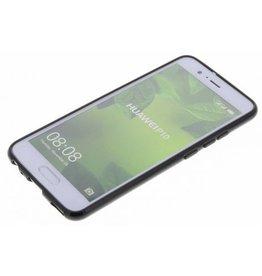 Gadget Dojo Mattschwarz Silikon TPU Case Huawei P10
