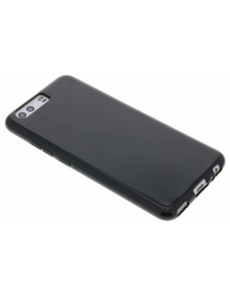 Gadget Dojo Mat Zwart Siliconen TPU Hoesje Huawei P10