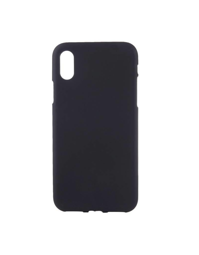 Gadget Dojo Mattschwarz Silikon TPU Case iPhone Xs Max